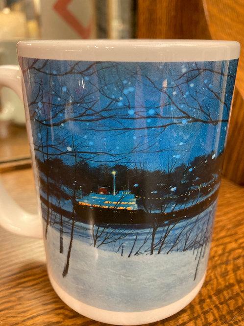 Christmas Ship Mug 15OZ