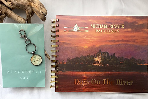 Alexandria Bay Keychain & Days On The River Journal