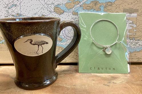 Clayton Bracelet ~ Heron Mug