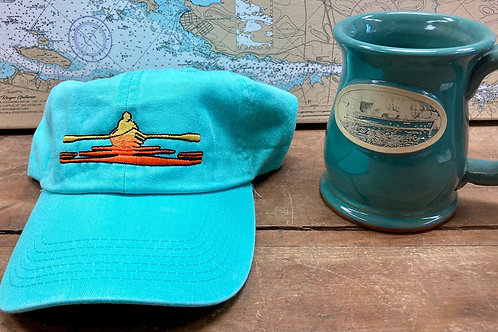 River Rower Hat ~ Freighter Mug