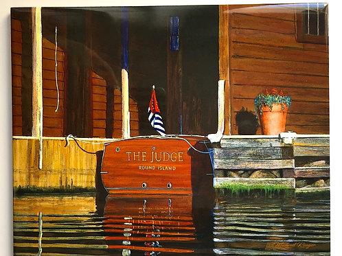 "The Judge 8"" X 10"" Tile"