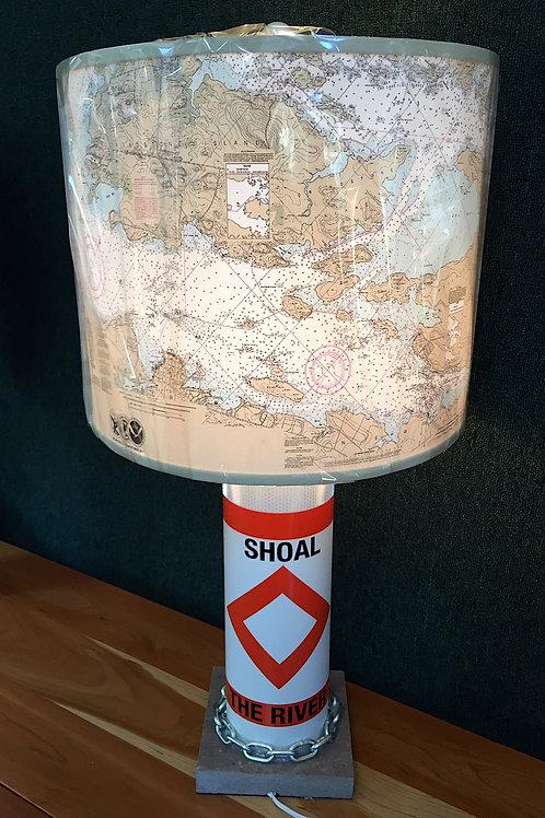 River Shoal Marker Lamp - Chart Shade