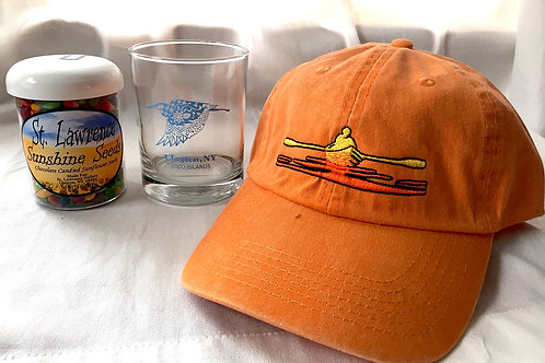 River Set: Orange Hat, Tumbler & River Sunshine Seeds