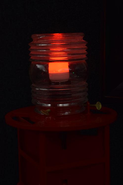 Red / Fresnel Lens (Buoy - Red LED Light) Channel Buoy Marker