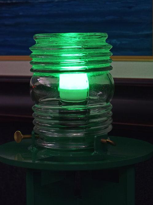 Green / Fresnel Lens (Buoy - Green LED Light) Channel Buoy Marker