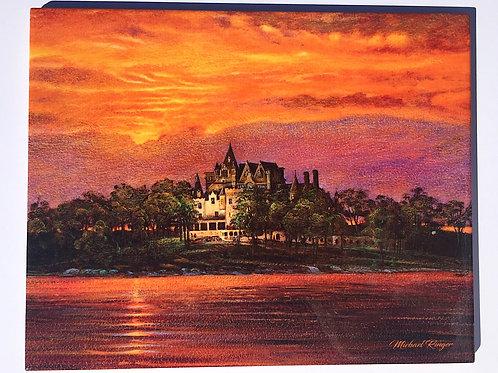 Sunset Over Boldt Castle