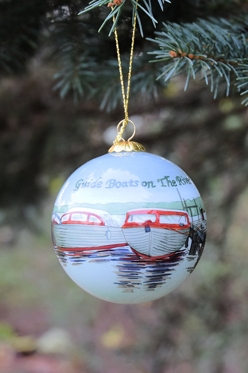 Guide Boats Christmas Ornament