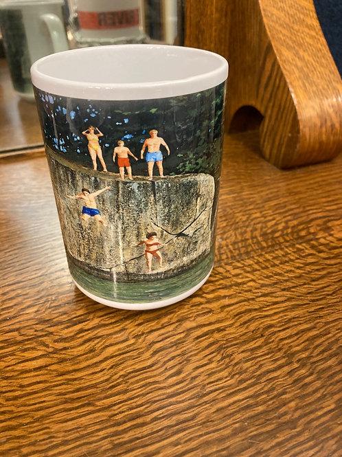 Jumping Off Stovin 15OZ Mug