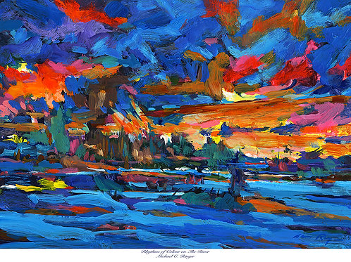 """Rhythms of Color on the River"""
