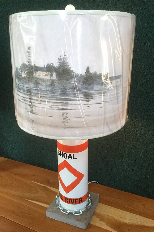 River Shoal Marker Lamp - The River Shade