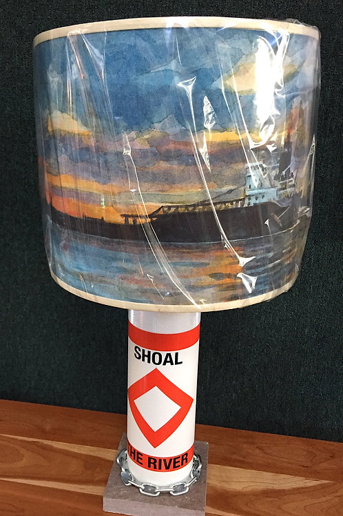 River Shoal Marker Lamp - Quiet River Shade