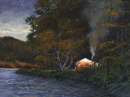 Shore Dinner on the Salmon River