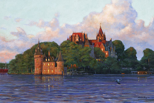 First Light at Boldt Castle