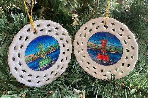 Buoy Ornament Set