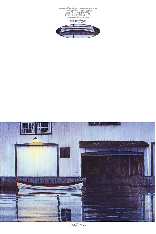Reflections Manhattan Yachthouse Notecard