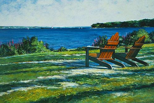 Adirondack Chairs Oak Point
