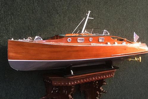 """Zipper - 36"""" Custom Model Boat"""