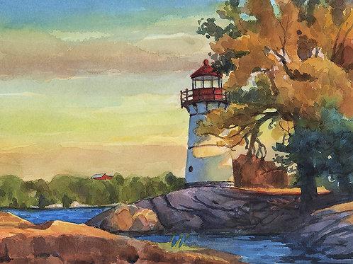 October at Crossover Island