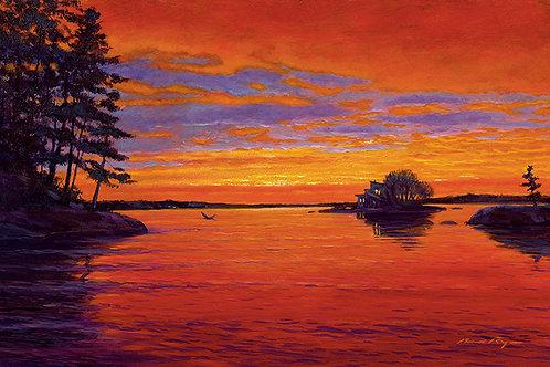 Sunset Over Eel Bay