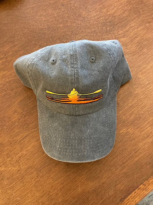 River Rower Hat ~ Charcoal