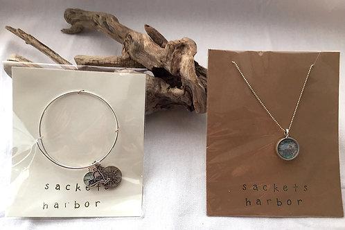 Sackets Harbor Necklace & Bracelet Set