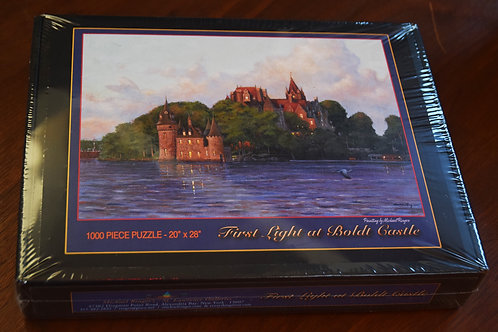 First Light at Boldt castle Puzzle