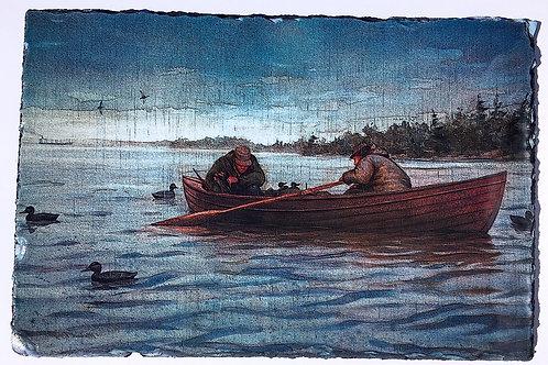 "Hunting St. Lawrence Skiff Slat 7"" X 11"""