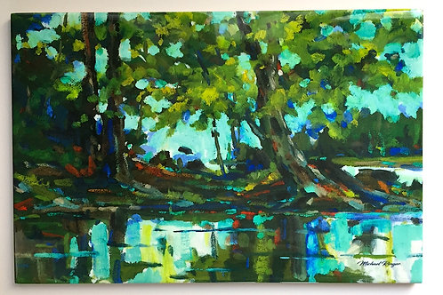 """Island Tapestry 8"""" X 12"""" Tile"""