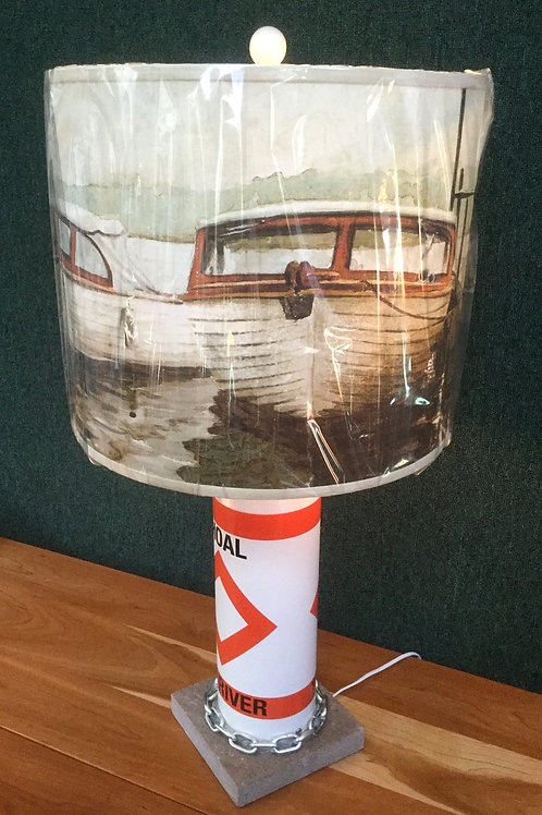 River Shoal Marker Lamp - Guide Boats Shade