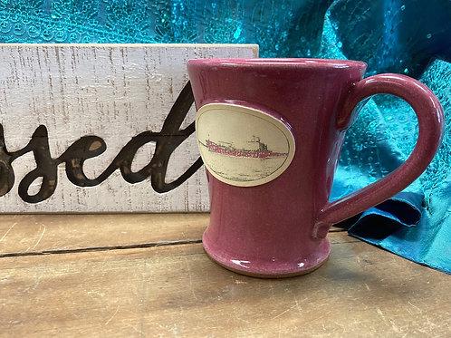 Blessed Block Sign & Pink Ship Mug