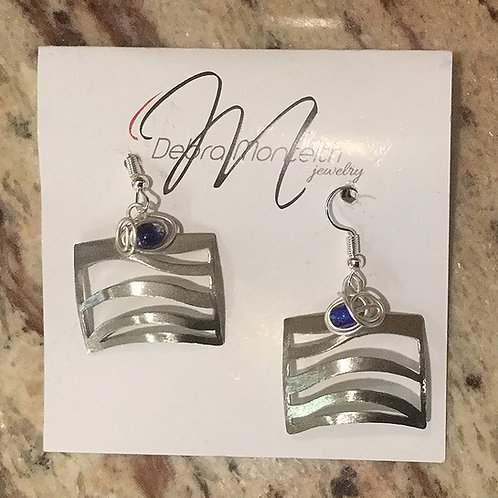 "Wrap ""the River"" Earrings"