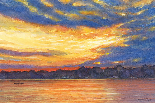 Sunset Over Densmore Bay
