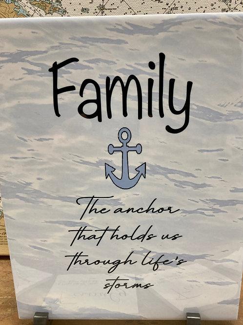 Family Tile ~Coaster Set
