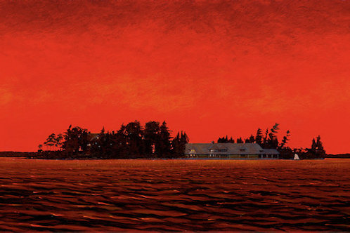 Sunset Scow Island