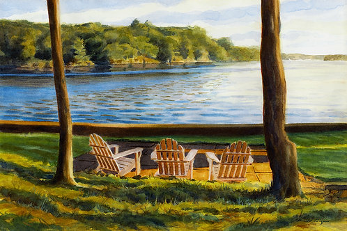 """Adirondack Chairs Rowley Island"""