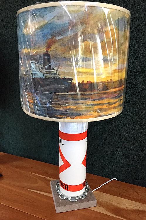 River Shoal Marker Lamp - Quiet River Shade