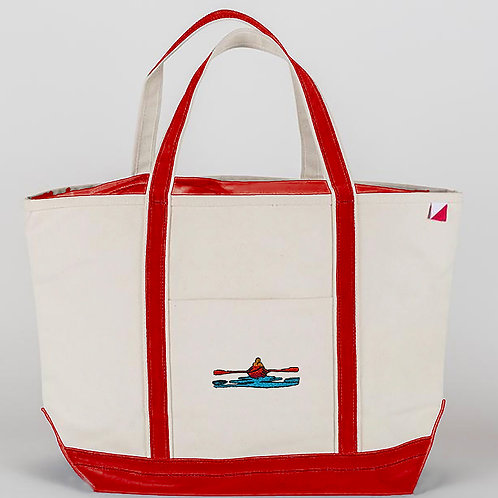 Large Buoy Red Tote Bag