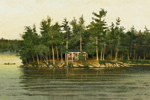 Canoeing Pine Bay