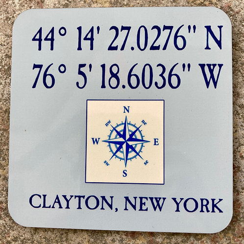 Clayton, NY Coordinates
