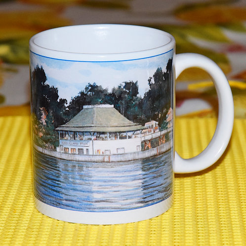 New Ceramic Mug, Pavilion at Thousand Islands Park.