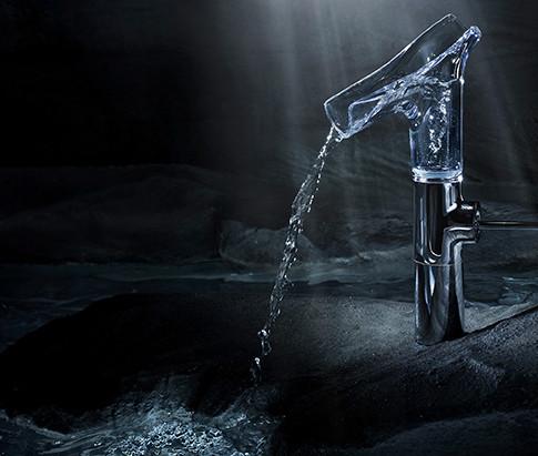 HANSGROHE AXOR STARCK V WATER VORTEX MIXER