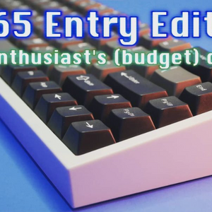 The NovelKeys NK65 Entry Edition I/O Sam review is on!