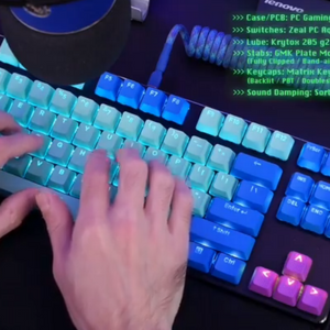 """Whisper quiet mechanical keyboard (on a """"budget"""")"""