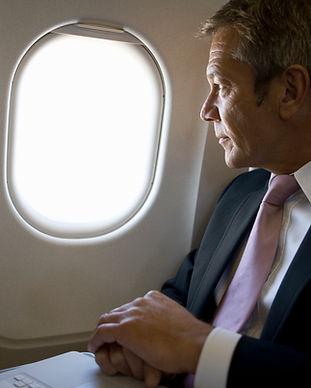 Quelqu'un volant Business Class