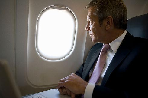 Alguém Voar Business Class