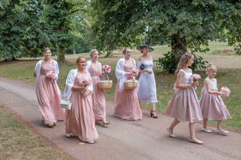 bridesmaids_ Cockington