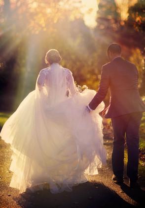Brooksby wedding evening photographs