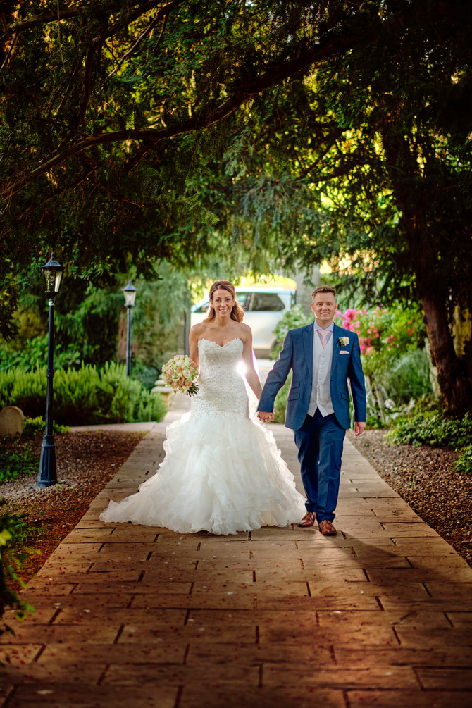 St Martin's Wedding and The George Hotel in Stamford