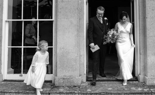 Journalist photography wedding
