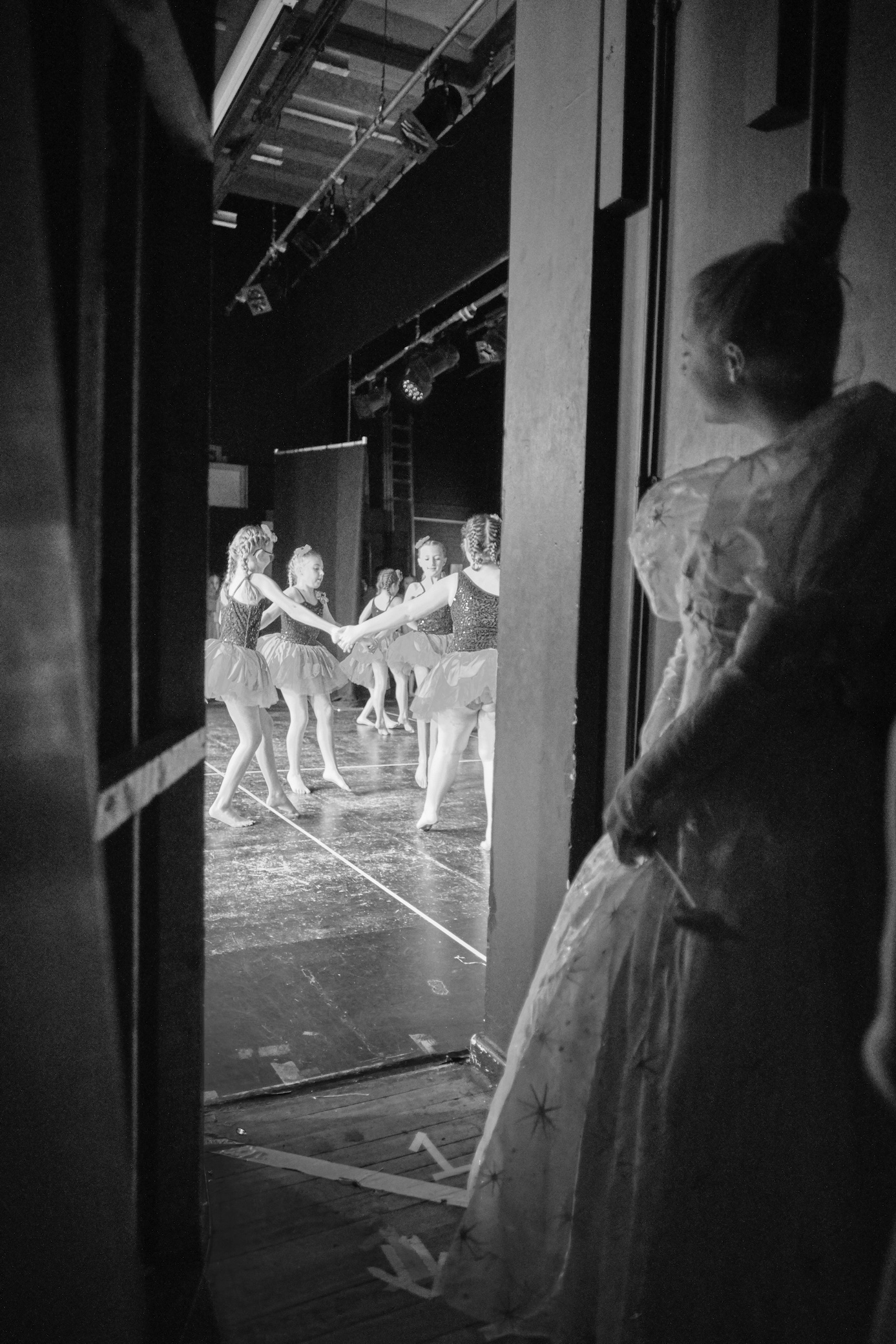 Behind the stage photography